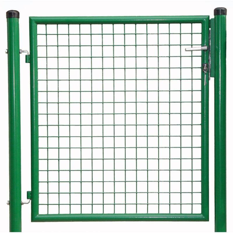 1-flg. Gartentor, Gr. 1500 x 1000 mm (H x B), feuerverzinkt + pulverbeschichtet RAL 6005 grün