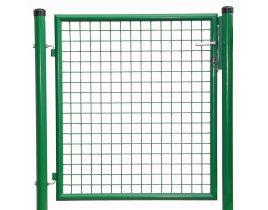 1-flg. Gartentor, Gr. 1000 x 1000 mm (H x B), phosphatiert + polyesterbeschichtet  RAL 6005 grün