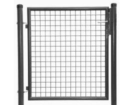 1-flg. Gartentor, Gr. 800 x 2000 mm (H x B), feuerverzinkt + pulverbeschichtet RAL 7016 anthrazit