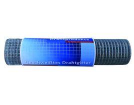 Punktschweißgitter auf Rolle, Maschenweite 10,6mm, Höhe 600mm, feuerverzinkt, Rolle á 25lfm.
