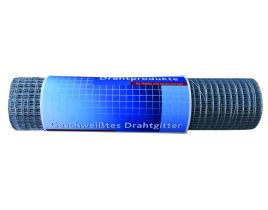 Punktschweißgitter auf Rolle, Maschenweite 12,7mm, Höhe 610mm, feuerverzinkt, Rolle á 25lfm.