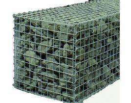 Steinkorb, Spiralgabionen, Maschenweite 50x50mm, verzinkt, Gr. 500X500x1000mm