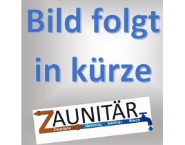 Kunststoff-Sichtschutzelmente Flechtzaun, Gr. 1800/1500 x 1500 mm, (Höhe x Länge), Ausführung weiß, abgeschrägt zweifach