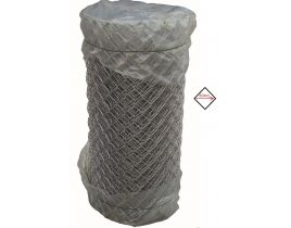 Maschendrahtzaun verzinkt, 1250mm, Maschenweite 60mm, Drahtstärke 2,2mm