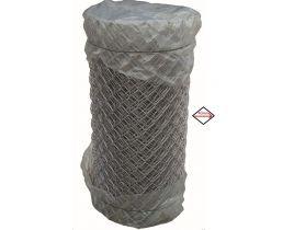 Maschendrahtzaun verzinkt, 1250mm, Maschenweite 40mm, Drahtstärke 2,5mm