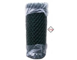 Maschendrahtzaun kunststoffummantelt grün, 1250mm, Maschenweite 40mm, Drahtstärke 3,1mm