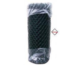 Maschendrahtzaun kunststoffummantelt grün, 1250mm, Maschenweite 50mm, Drahtstärke 2,8mm, kurze Rolle